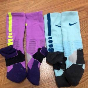 Nike Crew colored socks